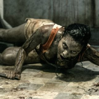 Jessica Lucas stars as Olivia in TriStar Pictures' Evil Dead (2013)