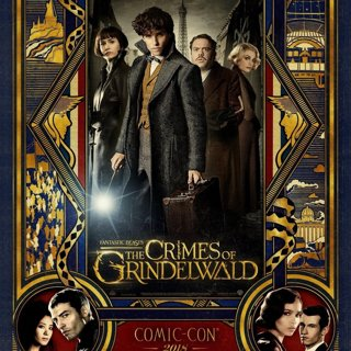 Poster of Warner Bros. Pictures' Fantastic Beasts: The Crimes of Grindelwald (2018)