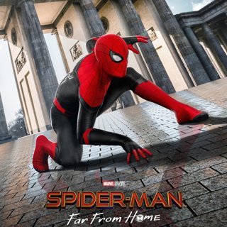 Poster of Sony Pictures' Spider-Man: Far From Home (2019)