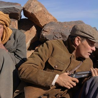 Reda Kateb stars as Mohamed and Viggo Mortensen stars as Daru in Tribeca Film's Far from Men (2015)