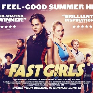 Poster of StudioCanal's Fast Girls (2012) - fast-girls-poster01