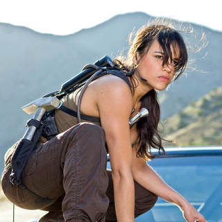 Michelle Rodriguez stars as Letty in Universal Pictures' Fast and Furious (2009)
