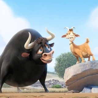 Ferdinand and Lupe from 20th Century Fox's Ferdinand (2017)