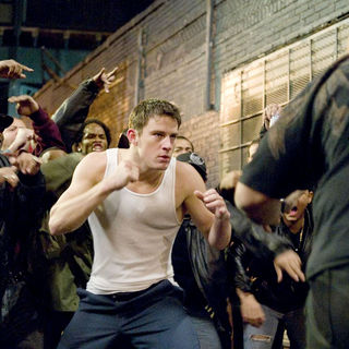 Channing Tatum stars as Shawn MacArthur in Rogue Pictures' Fighting (2009)