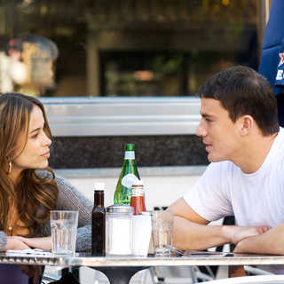 Zulay Henao stars as Zulay Valez and Channing Tatum stars as Shawn MacArthur in Rogue Pictures' Fighting (2009)