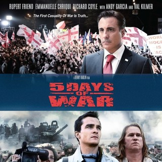 Richard Coyl, Rupert Friend and Val Kilmer in Anchor Bay Films' 5 Days of War (2011)