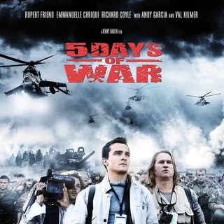 Rupert Friend and Val Kilmer in Anchor Bay Films' 5 Days of War (2011)