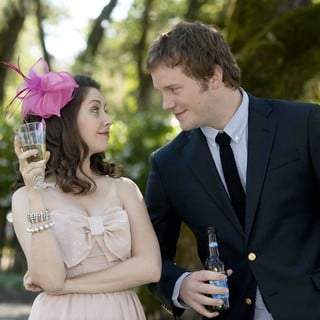 Alison Brie stars as Suzie Barnes-Eilhauer and Chris Pratt stars as Alex Eilhauer in Universal Pictures' The Five-Year Engagement (2012) - five-year-engagement06