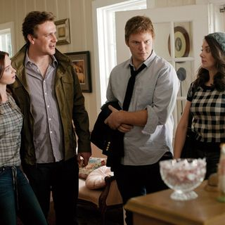Emily Blunt, Jason Segel, Chris Pratt and Alison Brie in Universal Pictures' The Five-Year Engagement (2012)