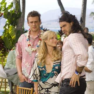 Jason Segel, Kristen Bell and Russell Brand in Universal Pictures' Forgetting Sarah Marshall (2008)