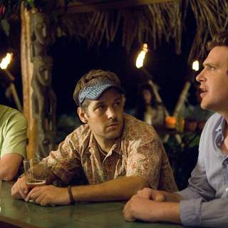 Jack McBrayer, Paul Rudd and Jason Segel in Universal Pictures' Forgetting Sarah Marshall (2008)