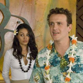 Mila Kunis as Racheal and Jason Segel as Peter Bretter in Universal Pictures' Forgetting Sarah Marshall (2008) - foc_11