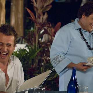 Jason Segel as Peter Bretter and Jonah Hill as Matthew in Universal Pictures' Forgetting Sarah Marshall (2008) - foc_25