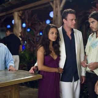 Jonah Hill, Mila Kunis, Jason Segel, Kristen Bell and Russell Brand  in Universal Pictures' Forgetting Sarah Marshall (2008) - foc_27