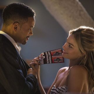 Will Smith stars as Nicky and Margot Robbie stars as Jess Barrett in Warner Bros. Pictures' Focus (2015)