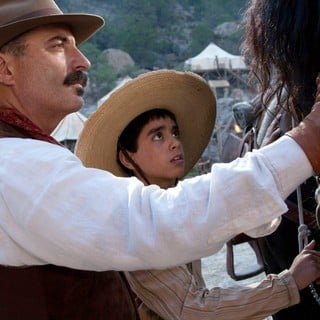 Andy Garcia stars as Enrique Gorostieta Velarde and Mauricio Kuri stars as Jose Luis Sanchez del Rio in ARC Entertainment's For Greater Glory (2012). Photo credit by Hana Matsumoto. - for-greater-glory07