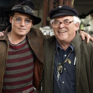 Johnny Depp and Ralph Steadman in Sony Pictures Classics' For No Good Reason (2014)