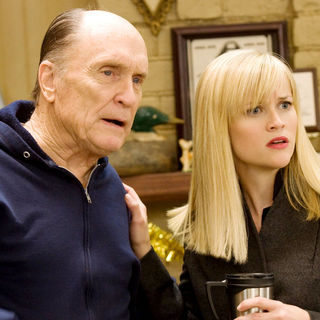 Robert Duvall stars as Howard and Reese Witherspoon stars as Kate in New Line Cinema's Four Christmases (2008)