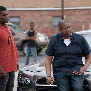 50 Cent stars as Malo and Forest Whitaker stars as LaRue in Lions Gate Films' Freelancers (2012)