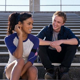 LeToya Luckett stars as Stacey and Tom Felton stars as Edward in Freestyle Releasing's From the Rough (2014)