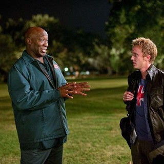 Michael Clarke Duncan stars as Roger and Tom Felton stars as Edward in Freestyle Releasing's From the Rough (2014) - from-the-rough05