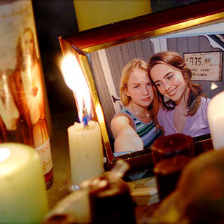 Brittany Robertson stars as Claire and Elizabeth Rice stars as Lindsay in After Dark Films' From Within (2009)