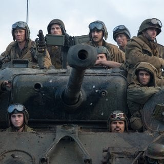 Brad Pitt, Shia LaBeouf, Jon Bernthal, Logan Lerman and Michael Pena in Columbia Pictures' Fury (2014) - fury-09