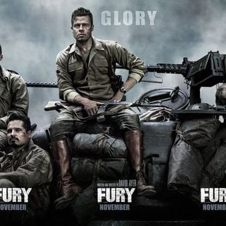 Poster of Columbia Pictures' Fury (2014) - fury-poster02