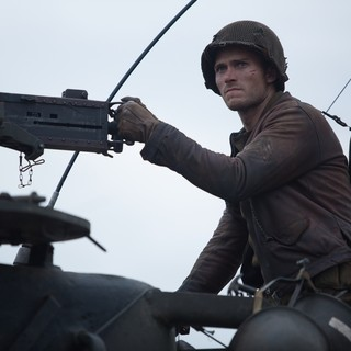Fury - Scott Eastwood stars as Sergeant Miles in Columbia Pictures' Fury (2014)