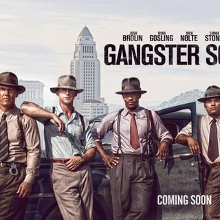 Poster of Warner Bros. Pictures' Gangster Squad (2013) - gangster-squad-poster01