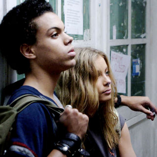 Evan Ross stars as Donnie and Gillian Jacobs stars as Leslie in City Lights Pictures' Gardens of the Night (2008)