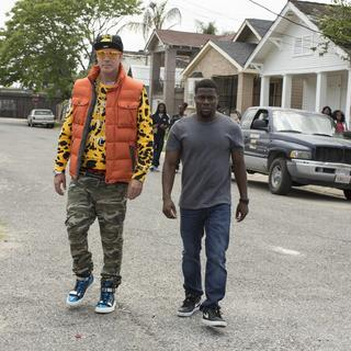 Will Ferrell stars as James King and Kevin Hart stars as Darnell Lewis in Warner Bros. Pictures' Get Hard (2015)