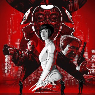 Poster of Paramount Pictures' Ghost in the Shell (2017)