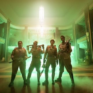 Ghostbusters (2016) - Melissa McCarthy, Kate McKinnon, Kristen Wiig and Leslie Jones in Columbia Pictures' Ghostbusters (2016)