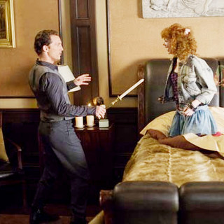 Matthew McConaughey stars as Connor and Emma Stone stars as Allison Vandermeersh in New Line Cinema's Ghosts of Girlfriends Past (2009) - ghosts_of_girlfriends_past08