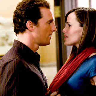 Matthew McConaughey stars as Connor and Jennifer Garner stars as Jenny in New Line Cinema's Ghosts of Girlfriends Past (2009)