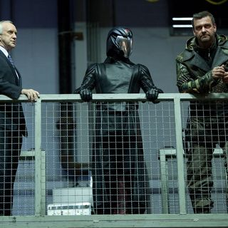 Jonathan Pryce stars as U.S. President and Ray Stevenson stars as Firefly in Paramount Pictures' G.I. Joe: Retaliation (2013)