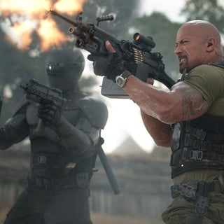 The Rock stars as Roadblock in Paramount Pictures' G.I. Joe: Retaliation (2013)