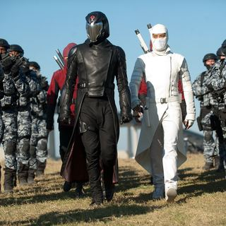 Luke Bracey stars as Cobra Commander and Byung-hun Lee stars as Storm Shadow in Paramount Pictures' G.I. Joe: Retaliation (2013)