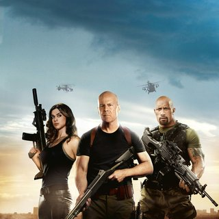 Adrianne Palicki, Bruce Willis and The Rock in Paramount Pictures' G.I. Joe: Retaliation (2013)