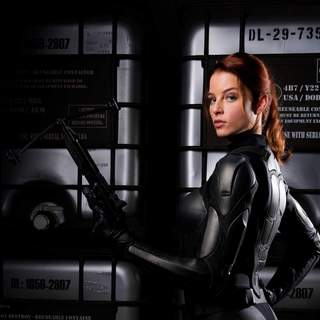 Rachel Nichols stars as Scarlett in Paramount Pictures' G.I. Joe: Rise of Cobra (2009)