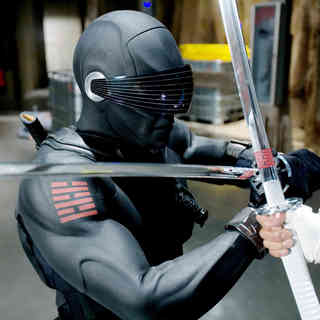 Ray Park stars as Snake Eyes Paramount Pictures' G.I. Joe: Rise of Cobra (2009)