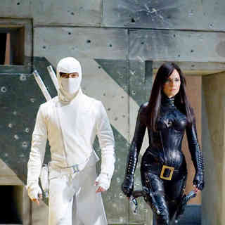 Lee Byung-hun stars as Storm Shadow and Sienna Miller stars as The Baroness in Paramount Pictures' G.I. Joe: Rise of Cobra (2009)