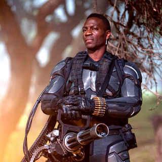 Adewale Akinnuoye-Agbaje stars as Heavy Duty in Paramount Pictures' G.I. Joe: Rise of Cobra (2009)