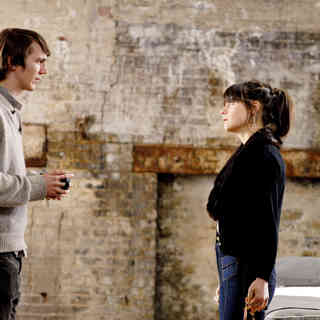 Paul Dano stars as Brian Weathersby and Zooey Deschanel stars as Harriet Lolly in First Independent Pictures' Gigantic (2009) - gigantic13