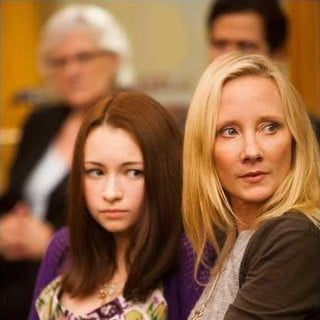 Jodelle Ferland stars as Haley and Anne Heche stars as Melissa in Lifetime's Girl Fight (2011)