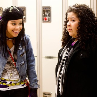Cierra Ramirez stars as Ansiedad and Raini Rodriguez stars as Tavita in Pantelion Films' Girl in Progress (2012). Photo credit by Bob Akester.