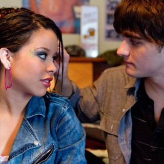 Cierra Ramirez stars as Ansiedad and Landon Liboiron stars as Trevor in Pantelion Films' Girl in Progress (2012). Photo credit by Bob Akester.