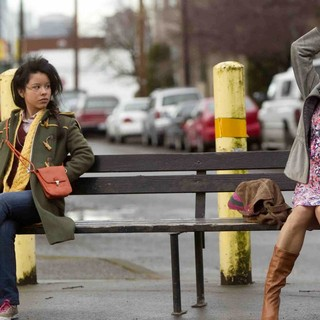 Cierra Ramirez stars as Ansiedad and Eva Mendes stars as Grace in Pantelion Films' Girl in Progress (2012). Photo credit by Bob Akester.