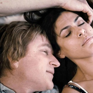 Matthew Modine stars as Dr. Harford and Eva Mendes stars as Grace in Pantelion Films' Girl in Progress (2012)